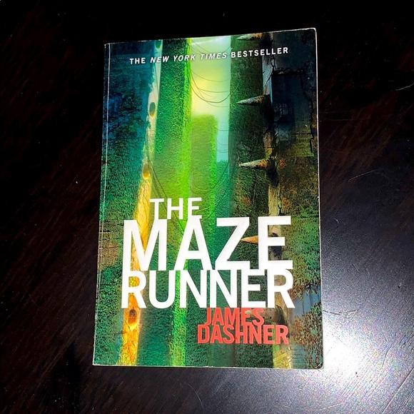 """""""The Maze Runner"""" by James Dashner. Paperback."""